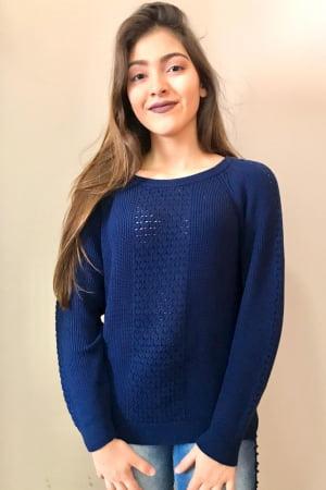 Blusa Modal Rendada - REF. 176