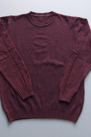 Blusa Masculina Decote Redondo Quadradinhos - REF. 953