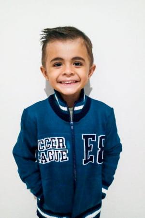 Jaqueta Masculina Infantil Soccer League - REF: 1105